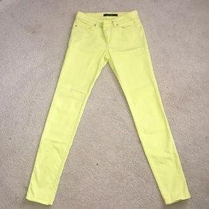 Joe's colored jeans